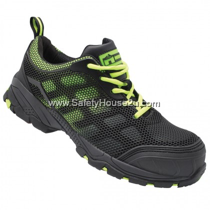 HOUSE FLORENCE SAFETY SHOES C/W COMPOSITE TOE CAP & KEVLAR MID SOLE